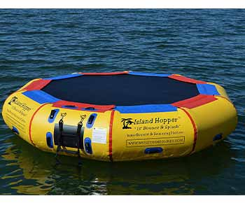 Island-Hopper-13'-Bounce-N-Splash-Padded-Water-Bouncer