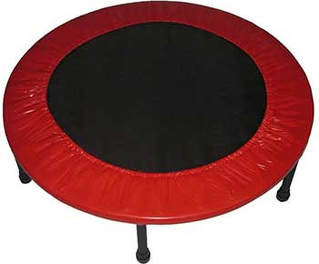 Propel-Trampolines-Rebounder-Fitness-Trampoline,-Red,-38-Inch
