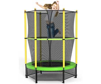 ROANUDE-4.5-Ft-Toddlers-Trampoline